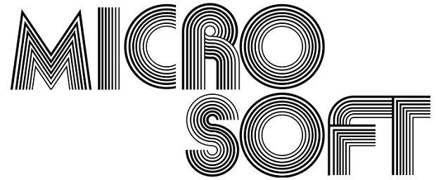 Pierwsze logo Microsoft