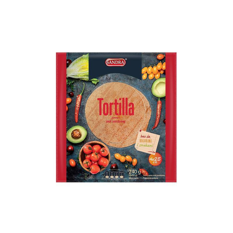 Sandra - Tortilla o smaku pomidorowym