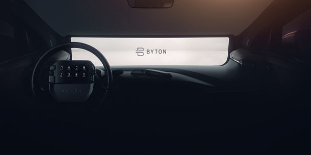 Samochód Byton M-Byte