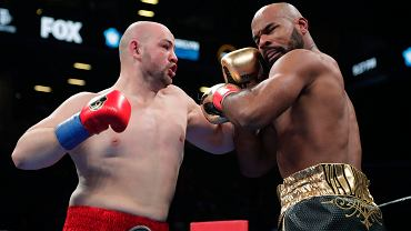 Adam Kownacki (z lewej) i Gerald Washington