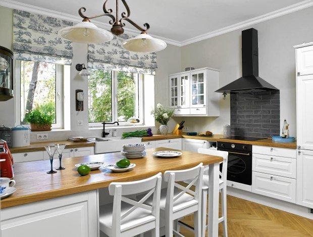 Dwa Okna W Kuchni Wnętrzaaranżacje Wnętrz Inspiracje