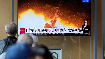 Korea Północna wystrzeliła niezidentyfikowany pocisk - zdjęcie ilustracyjne