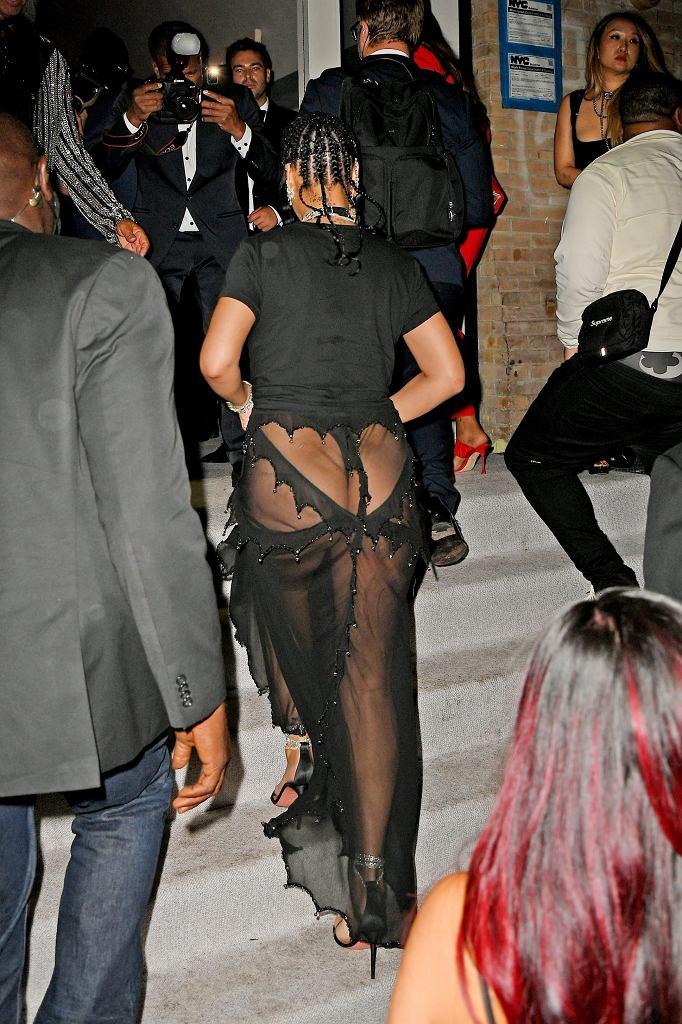Rihanna na afterparty Met Gali 2021