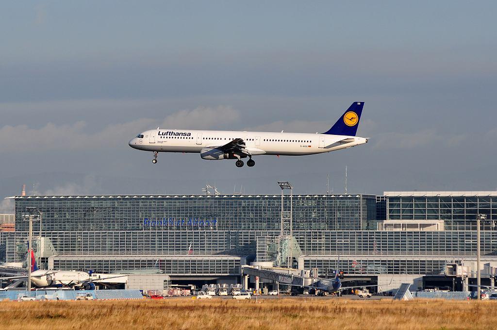 Niemcy, Frankfurt. Lotnisko.