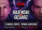 Rajewski z Gęsiarzem powalczą o podbój Warszawy na FEN 24