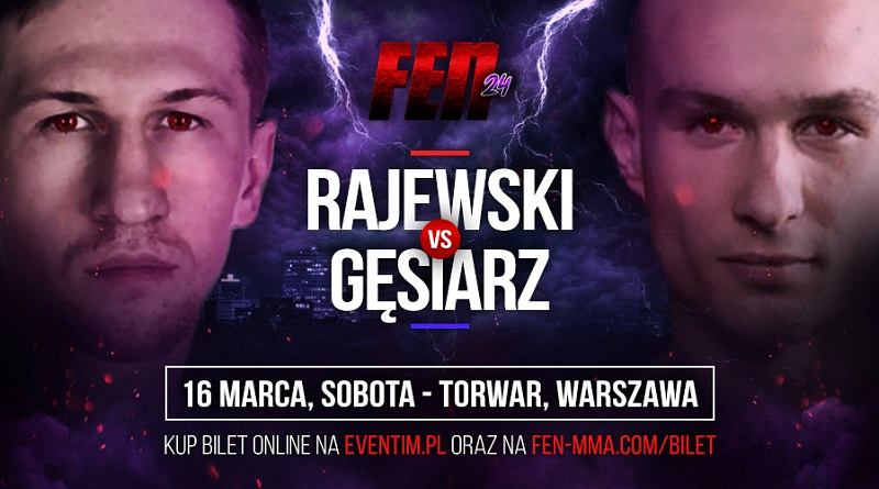 Robert Rajewski vs. Michał Gęsiarz