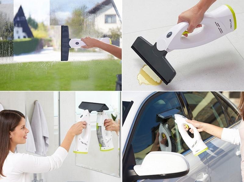 Elektryczna myjka do szyb Rovus