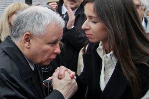 Marta Kaczyńska i Jarosław Kaczyński