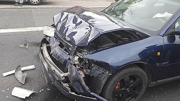 Spowodował kolizję jadąc na egzamin na prawo jazdy