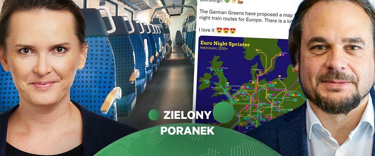 """Nocnymi pociągami po Europie zamiast samolotem? """"Coraz głośniej się o tym mówi"""""""