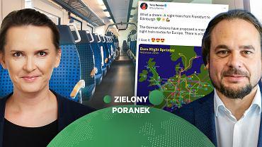 """Nocnymi pociągami po Europie zamiast samolotem? """"Coraz głośniej się o tym mówi. Już są pierwsze"""""""