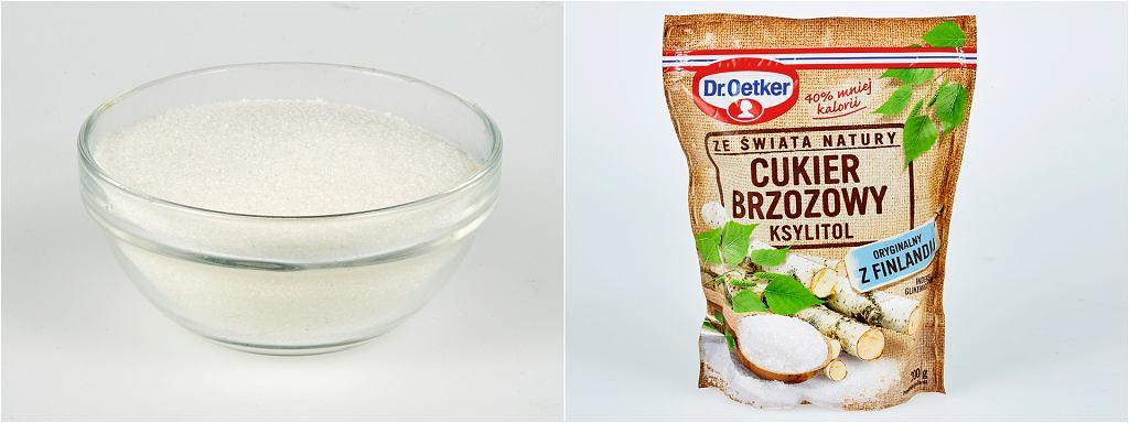 Cukier vs ksylitol