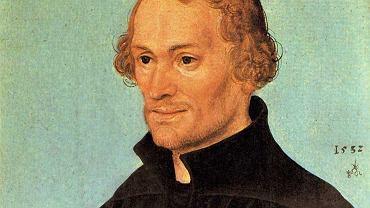 Filip Melanchton, 1532. Autor portretu: Lucas Cranach Starszy (1472-1553)