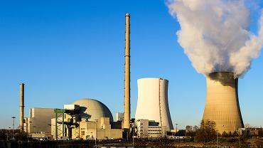 Niemcy. Elektrownia atomowa Philippsburg.