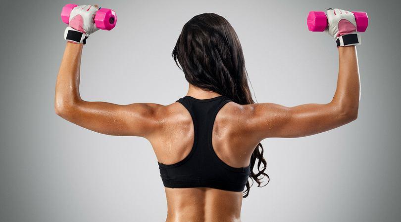 Jak schudnąć z ramion? Smukłe ramiona w tydzień - 3 skuteczne ćwiczenia - Odchudzanie - sunela.eu