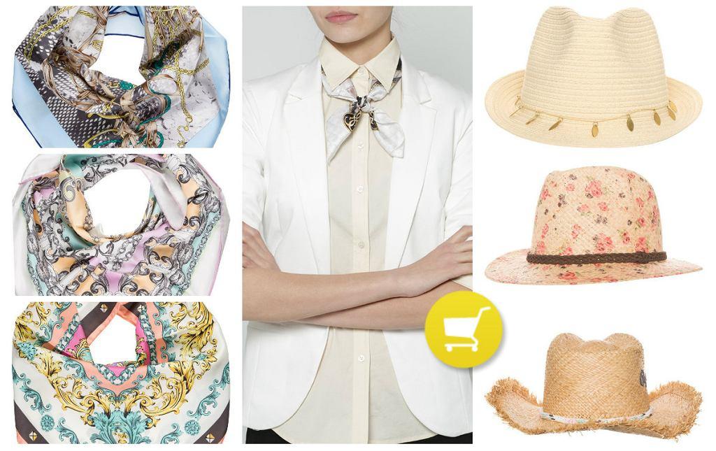 Chustki i kapelusze na lato