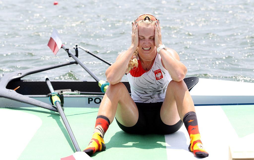 Agnieszka Kobus-Zawojska podczas igrzysk w Tokio