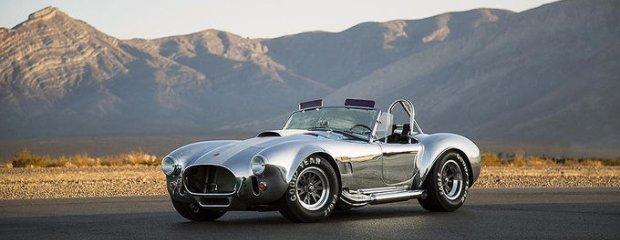 Shelby Cobra 427 50th Anniversary | Silnik, którego nie ma