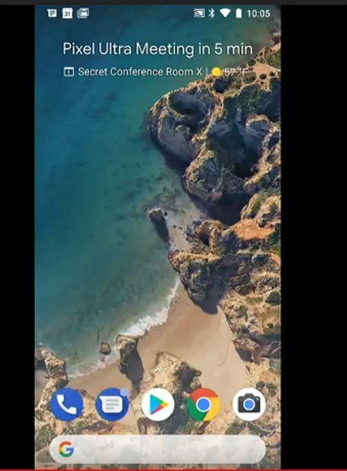 Zmiany w interfejsie smartfona Pixel