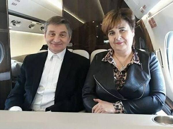Marszałek Sejmu Marek Kuchciński i posłanka PiS Krystyna Wróblewska