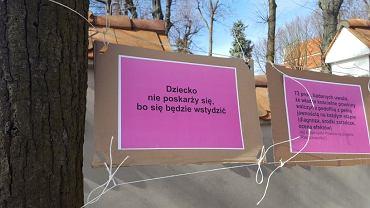 Protest 'Hańba biskupia' w Łomży