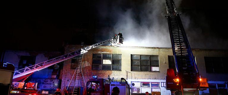 Pożar w centrum Łodzi: w akcji brało udział 14 zastępów straży [ZDJĘCIA]