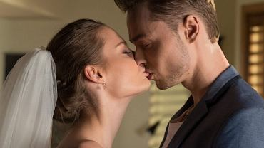 Katarzyna Sawczuk i Patryk Pniewski w serialu 'Barwy szczęścia'