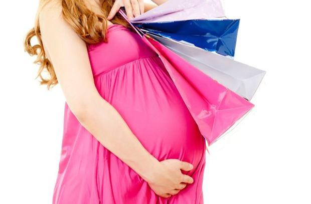 zakupy ciąża
