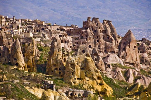Miejscowość Uchisar w Kapadocji