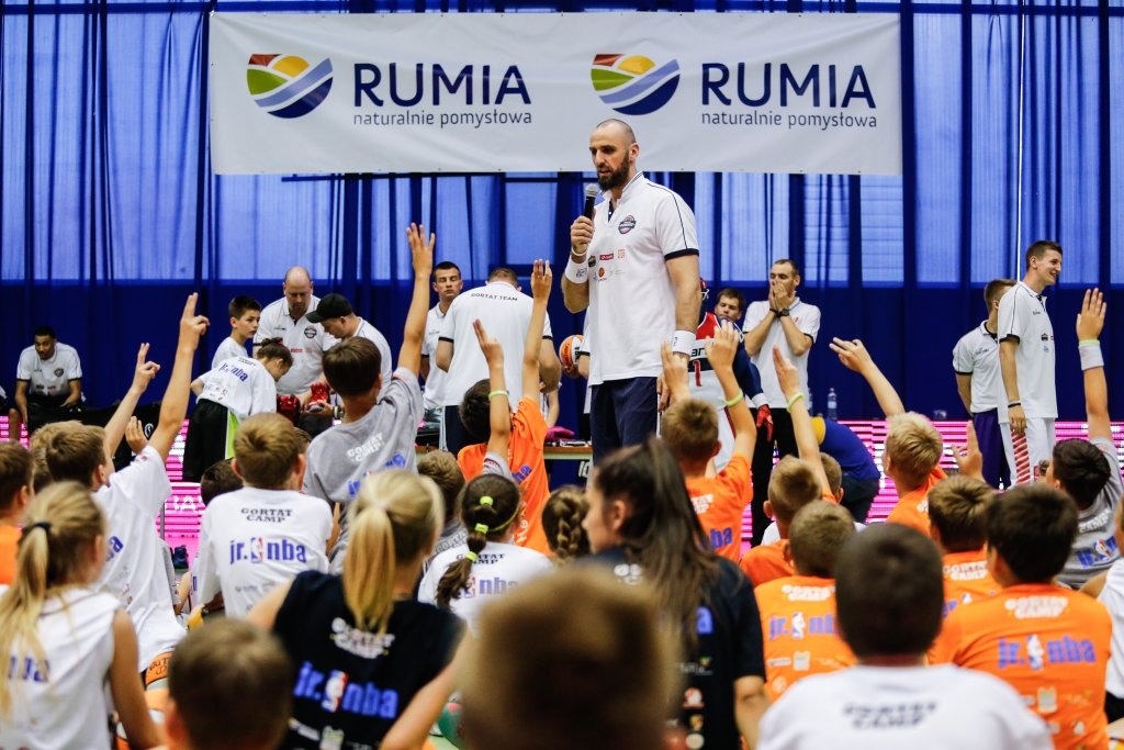 MG13 Camp 2015. Trening z dziećmi w Rumi. 09.07.2015