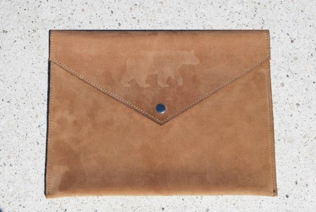Etui na tablet z kolekcji Grizzly Warsaw, moda męska, dodatki