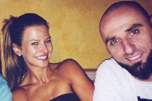 Anna Lewandowska i Marcin Gortat