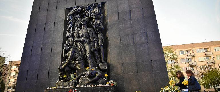 Warszawa. Syreny alarmowe 19 kwietnia. 76. rocznica powstania w getcie