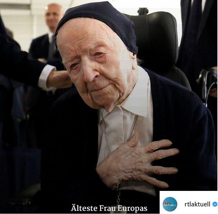Ta kobieta ma 117 lat. Przeszła bezobjawowo COVID-19