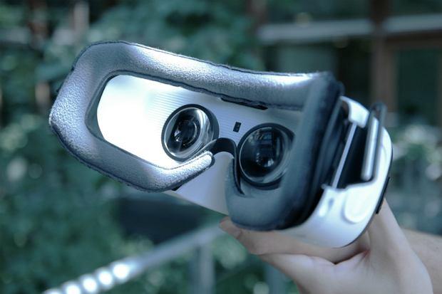 Wnętrze gogli Samsung Gear VR Lite