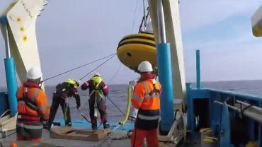 Instalacja pławy Orlenu na Bałtyku