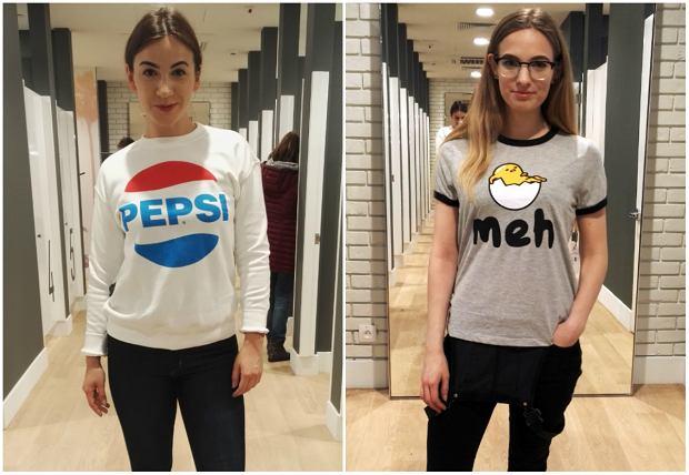 Forever 21 w wersji mniej słodkiej - bluza z Pepsi (99,90 zł) i T-shirt Gudetama (79,90 zł)