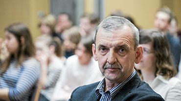 Na zdjęciu: prezes Związku Nauczycielstwa Polskiego Sławomir Broniarz