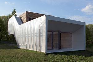 Polski dom został doceniony w niemieckim konkursie. Jest ekologiczny i przypomina gąsienicę