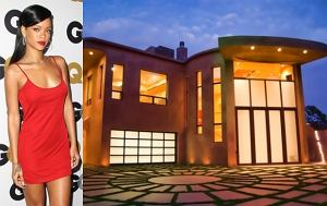 Rihanna, dom Rihanny, domy gwiazd
