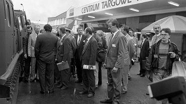 Otwarcie Międzynarodowego Salonu Przemysłu Obronnego 4 września 1993 roku.