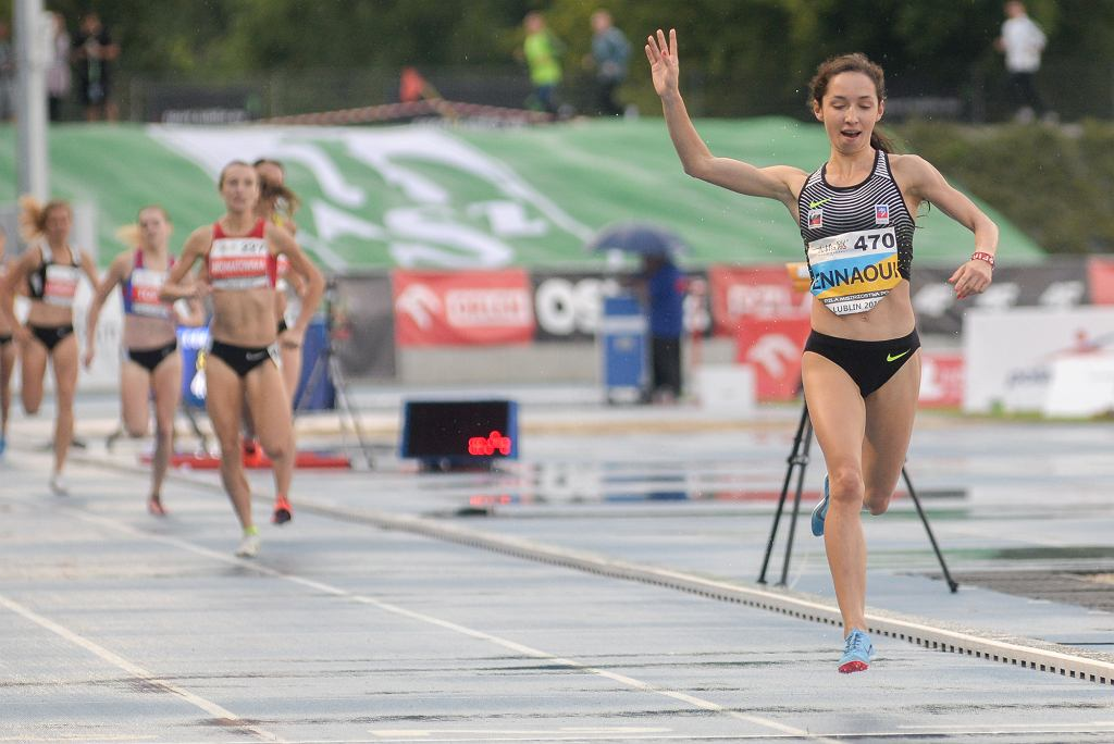 Lekkoatletyka. Mistrzostwa Polski. Sofia Ennaoui wygrywa bieg na 1500m