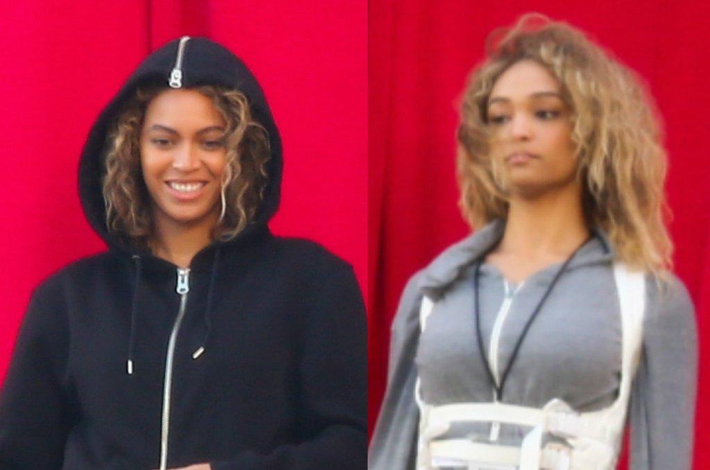 Beyonce ze swoją