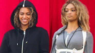 """Beyonce ze swoją """"sobowtórką"""""""