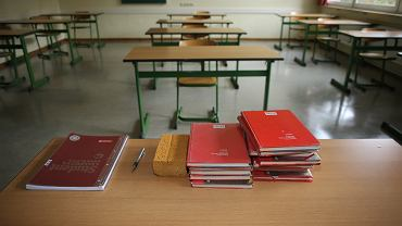 =Bamberg,,Germany.,August,31,,2020.,School,Books,In,A,Deserted