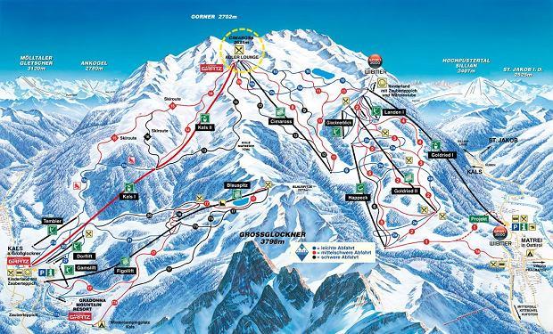 narty w austrii, tyrol wschodni