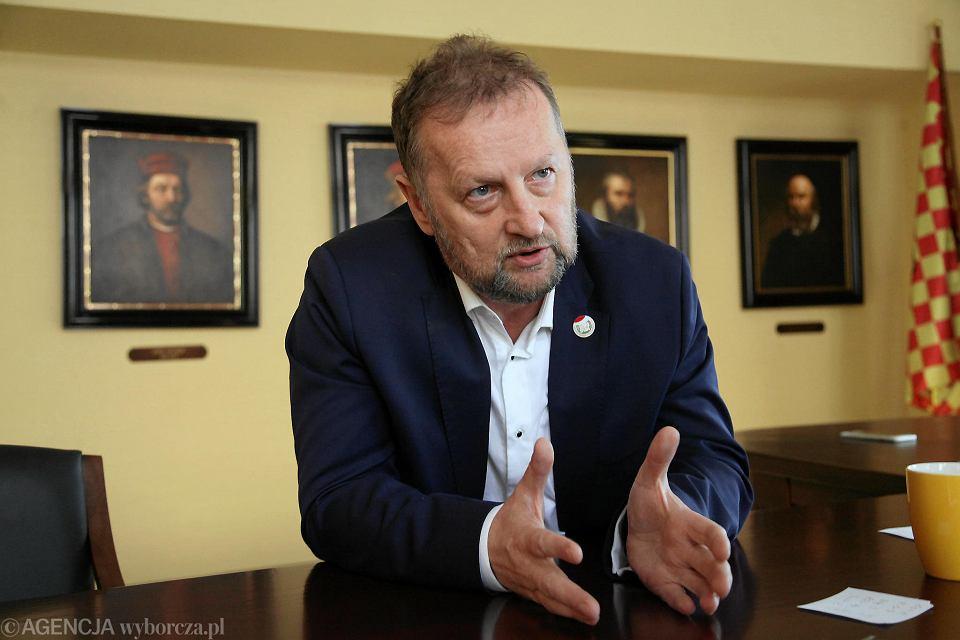Robert Raczyński, wieloletni prezydent Lubina