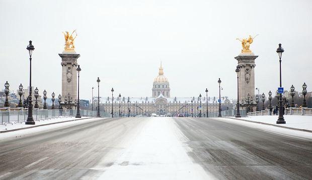 Zimowy Paryż, Most Aleksandra / fot. Shutterstock
