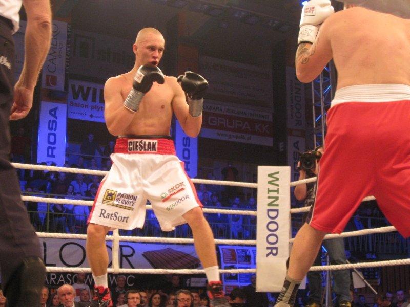 boks, Michał Cieślak