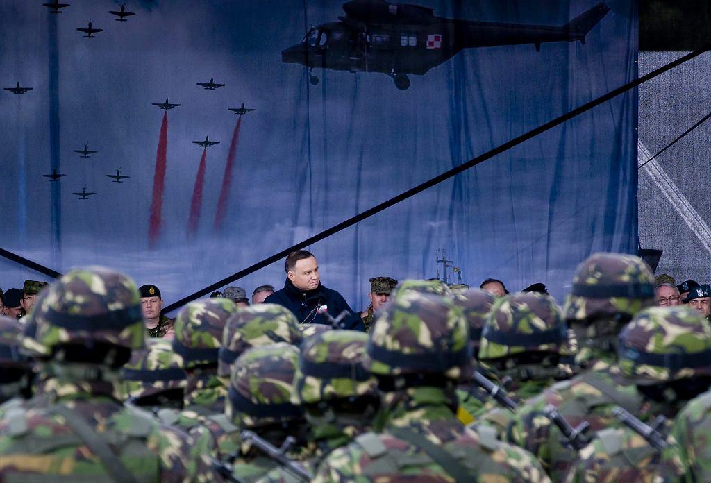 Porozumienie ws. dodatkowych wojsk USA w Polsce został zaakceptowane przez Andrzeja Dudę i Donalda Trumpa / Zdjęcie ilustracyjne